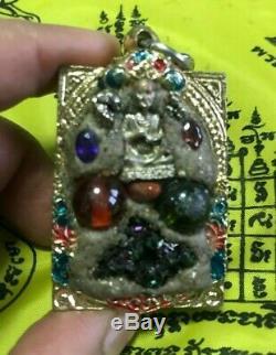 Leklai Devil Buddha Thai Amulet Cluster Badge Eye Naga Pendant Talisman Magic