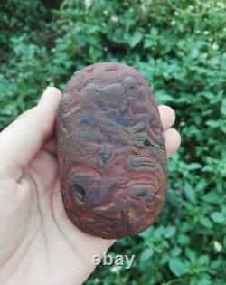 Leklai Heart Naga Nature Holy Protection Magic Thai Amulet Buddha Luck Power