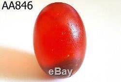 Leklai Kaew Summon Original Egg Red Thai Buddha Amulet #aa846a