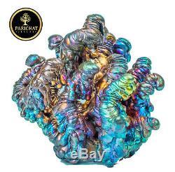 Leklai NAKA BUCHA Rainbow 7Color protect magic lucky Rare thai buddha amulet 775