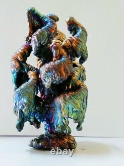 Leklai Nagabucha Rainbow 7 Color Buddha Magic Amulet Thai Protection Power Rare