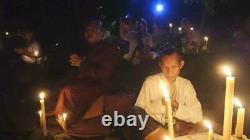 Leklai Nagabucha Rainbow 7 Color Magic Buddha Amulet Thai Protection Power Rare