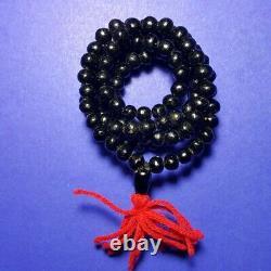 Leklai Necklace 108 Bead Prayer Magnetic Power Holy Protect Thai Buddha Amulet