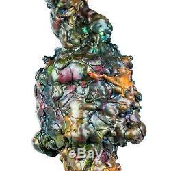 Leklai Phra Nak Prok Rainbow 7Color protect magic lucky thai buddha amulet 888