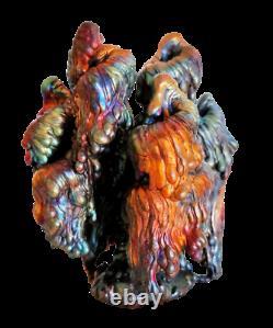 Leklai Rainbow 7 Color Nagabucha Tree Buddha Magic Amulet Thai Protection Power