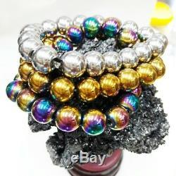 Leklai Rare bracelet thai amulet Genuine buddha powerful rich bless lucky set