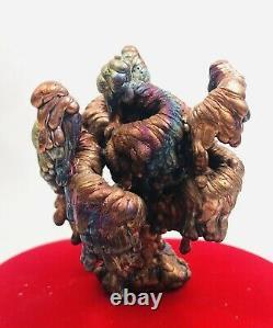 Leklai Suriyan Racha Rainbow Naga Thai amulet buddha stone magic Lp Somporn