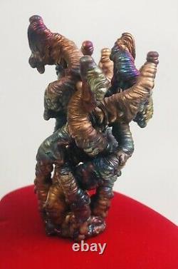 Leklai Suriyan Racha Rainbow naga Thai amulet buddha stone Thailand Lp Somporn