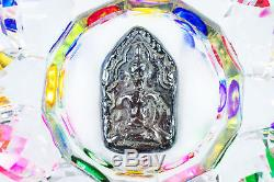 Leklai praya sming phra koon paen protect lucky Rare thai buddha amulet 701