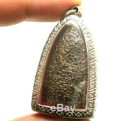 Lord Buddha Miracle Blessing Nadoon Life Protection Thai Healing Amulet Pendant