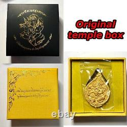 Lord Ganesha Coin Hindu Thai Art Buddha Amulet Luck Rich Wealth Success Holy
