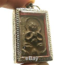 Lp Boon Big Belly Buddha Chant Magic Blessing Lucky Rich Success Thai Top Amulet