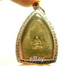 Lp Boon Big Jaosua Billionaire Back Pidta Buddha Thai Top Miracle Amulet Pendant