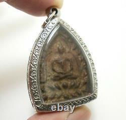 Lp Boon Big Jaosua Billionaire Back Pidta Jindamanee Buddha Thai Amulet Pendant