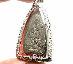Lp Boon Buddha Powerful Trade Business Success Real Thai Amulet Buddhism Pendant