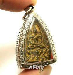 Lp Boon Small Jaosua Billionaire Buddha Thai Miracle Amulet Rich Success Pendant