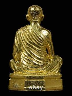 Lp Koon Wat Banrai Thai Amulet Buddha Areyuwattana Mongkol 90years Be2556 Rare