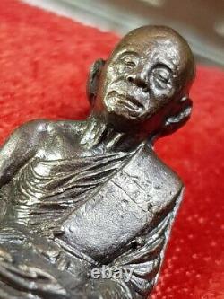 Lp Koon Wat Banrai Thai Amulet Buddha Khunpratep Pratarnporn Be. 2536 Copper