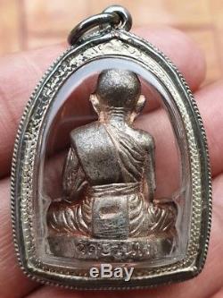 Lp Koon Wat Banrai Thai Amulet Buddha Pokasab88 Saeyid88 Nawaloha Be. 2553 Lucky