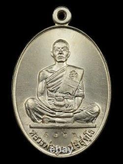 Lp Koon Wat Banrai Thai Amulet Buddha Series Sangbaramee 91 Be. 2557 Alpacca Rare