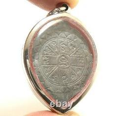Lp Lee Blessed 1957 Phra Bothijak Real Thai Buddha Amulet Lucky Success Pendant