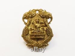Lp Ngern Tanjid Top Thai Amulet Buddha Shiva On Rahu V. Kahabordeelanna 100% #l2