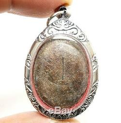 Lp Suk Sook Blessing Buddha Thai Magic Takrut Miracle Amulet Lucky Rich Pendant