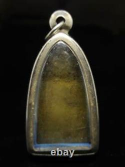 Lp Thuad 2505 Be. Pim Niyom Wat Changhai Thai Buddha Amulet Pendant Old Thailand