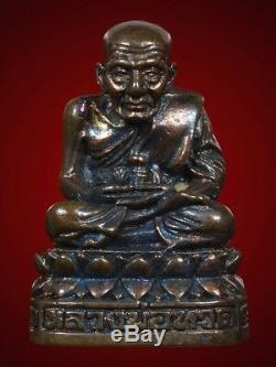 Lp Thuad Wat Changhai Thai Amulet Buddha 111years Ministry Of Defence Be. 2540