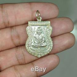 Lp Thuad Wat Changhai Thai Amulet Buddha Luen Samanasak2 Be2553 Alpacca Code Tor