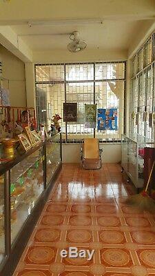 Lp Thuad Wat Changhai Thai Amulet Buddha Series Chockdee Nawaloha Silver Mask