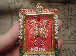 MAGIC Salika by KRUBA KRISSANA Thai Buddha Amulet Pendant