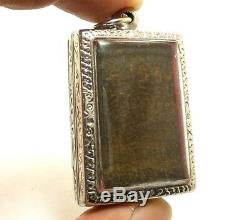 Magic Bless Amulet Thai Buddha Phra Jao 5 Pra Ong Lp Ngern Wat Bangklan Pendant