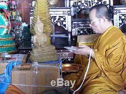 Magic Real Leklai Somdej Lun LP Ong Thai Buddha amulet lucky Protect Talisman
