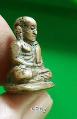 Magic Talisman Charm Pendant For Money Lucky Amulet Lp Ngern Thailand Buddha