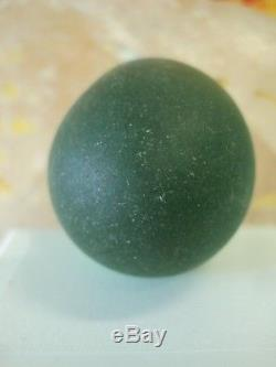 Naga Egg Maekhong River Stone Talisman Magic Gem Jewelry Thai Buddha Amulet