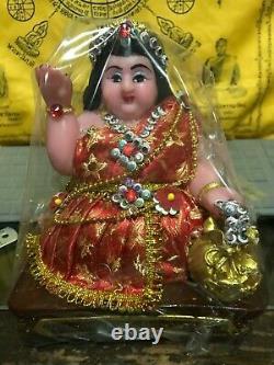 Nang Kwak Money Thai Amulet Help Rich Magic Wealth Lady Love Talisman Buddha