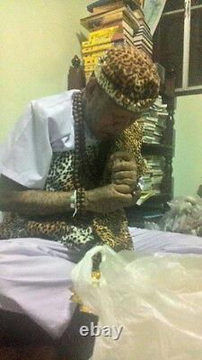 Ngang Silver Oil AJ NENAIR Love Charm Voodoo Amulet Thai Buddha Occult Khmer