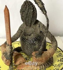 OOAK Super Hoon Payon Arjarn Roy Wat suwan Ayutthaya Thai Buddha Amulet Voodoo