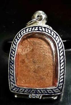 Old Ancient Thai Amulet Buddha Phra Phra somkor 1st Batch Powerful Lucky Pendant
