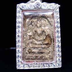 Old Genuine Thai Amulet Buddha Southeast Antique Phra Somdej Toh Wat Rakang
