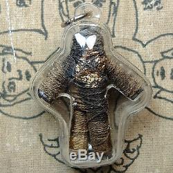 Old Hoon Payon, Arjarn Dej Wat Ban Pah, Phitsanulok, very rare, Thai Buddha Amulet