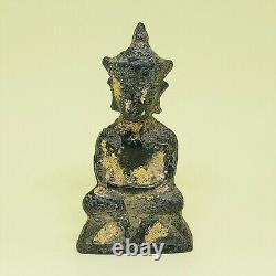 Old Phra Chai Ngang Bucha Ayutthaya Samrit Thai Angkor Cambodia Buddha Statue