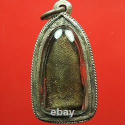 Old Phra Rod, Kru Wat Mahawan, Lamphun, Phim Lek, Thai Buddha Amulet. Certificate#4