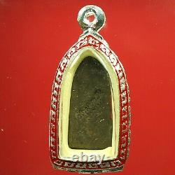 Old Phra Rod, Kru Wat Mahawan, Lamphun, Phim Tor, Thai Buddha Amulet. Certificate#3