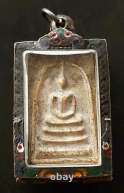 Old Thai Amulet Buddha Phra Somdej Lp Toh Wat Rakang Pim Yai Antique Pendant