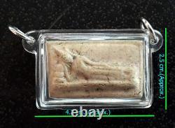 Old Thai Magic Amulet Buddha LP Toh Phra Somdej BangKhunProm Pim Sendai B. E. 2413