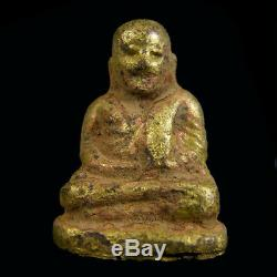 Original, Lp Ngern Statue Thai Amulet For Money Buddha Lucky Talisman Pendant