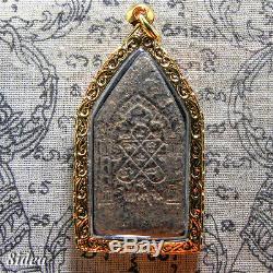 PHRA KHUN PAEN LP TIM (BUN JU GRU St.) THAI AMULET BUDDHA RARE CHARM BE. 2517 #2