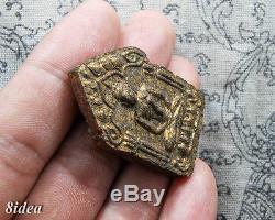 PHRA KHUN PAEN PRAI KRUMAN LP TIM WAT RAHANLAI PIM YAI Thai Amulet Buddha Charm